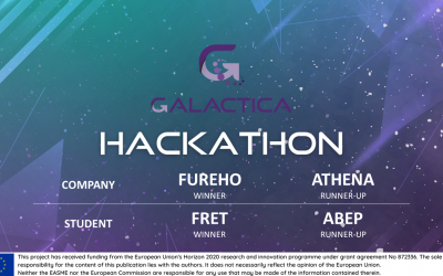 GALACTICA awarded 50k€ in prizes for the first hackathon winners!