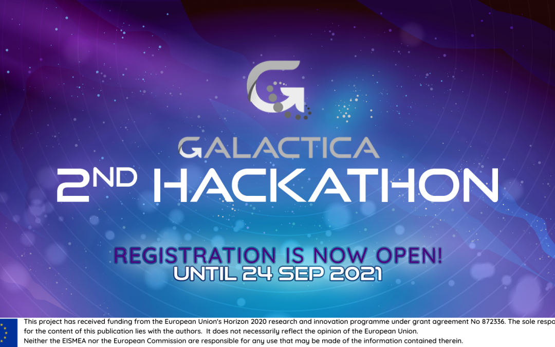 Registration for the 2nd Hackathon of GALACTICA is now open!
