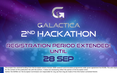 2nd Hackathon registrations' deadline extended to September 28th
