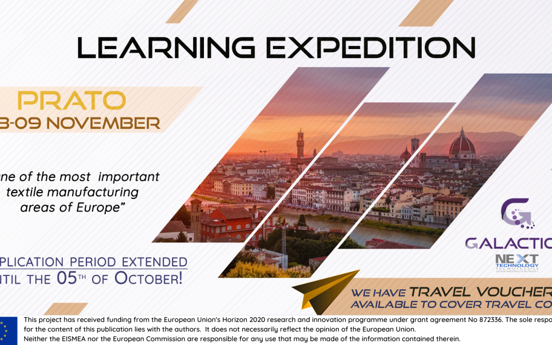 Travel vouchers to Prato's Learning Expedition: deadline extended!