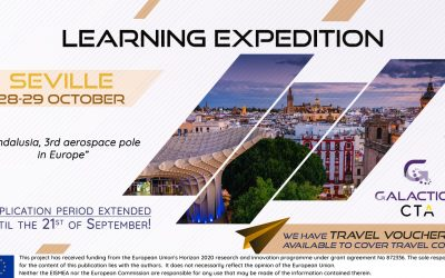 Travel vouchers deadline extended to apply to Seville's Learning Expedition!