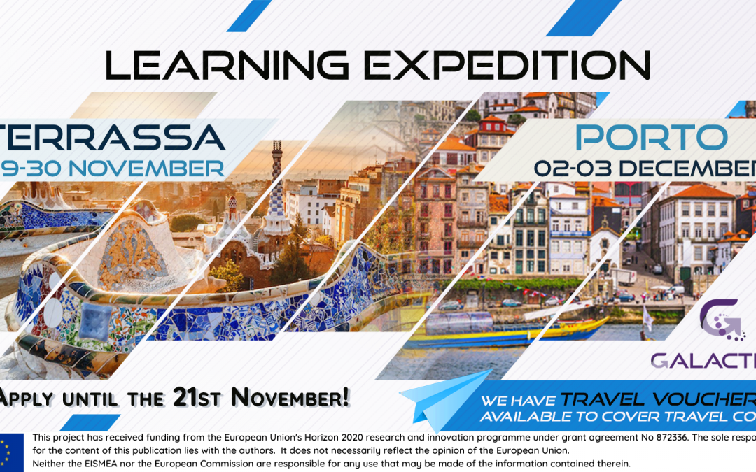 Do not miss the last 2 Learning expeditions!